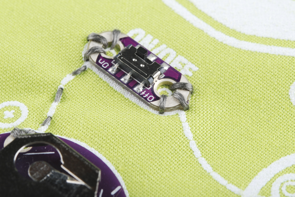 Sewing With Conductive Thread Learn Sparkfun Com