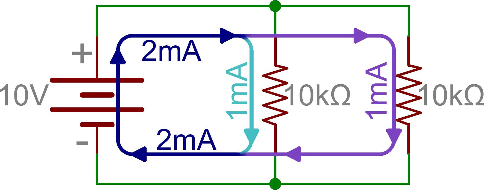 在本实验的第一部分,我们会用10k的电阻和一个100uF(即0.0001F)的电容.这两者相乘得出一秒的时间常量  时间常量会是怎样的呢?   记住这些结果,增加一个电容器,与第一个串联(如上图),确保电表的值 是0V。将滑动开关滑到ON。电压表的读数从0变成电源电压值是不是用了原 来一半稍微多的时间呢?这是因为电容器比原来多了一 倍。总的电容值变小了,所以将它充满电需要更少的时间。我们建议用第三 个电容器来证明这一点。 现在我们尝试并联电容器,记住我们说过这就像将电阻串联。于是我们得到 的总容量就是