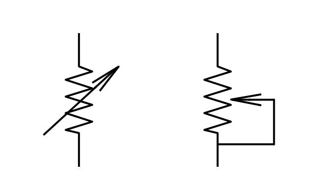 Ungewöhnlich Symbol Für Variablen Widerstand Ideen - Elektrische ...