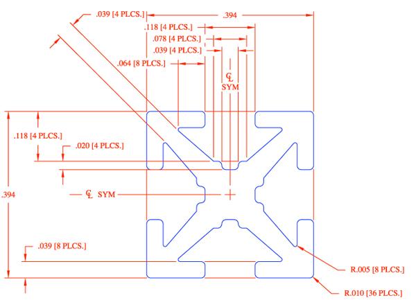 MakerBeam - PRT-10540 - SparkFun Electronics on