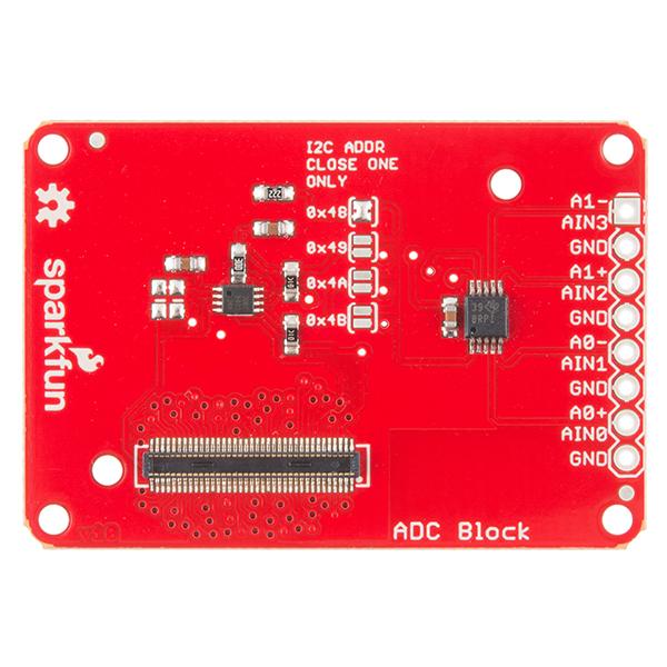 SparkFun Block for Intel® Edison - ADC