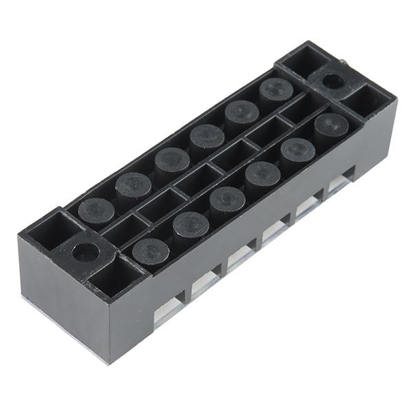 Terminal Block - 6 Position (15A, 600V)