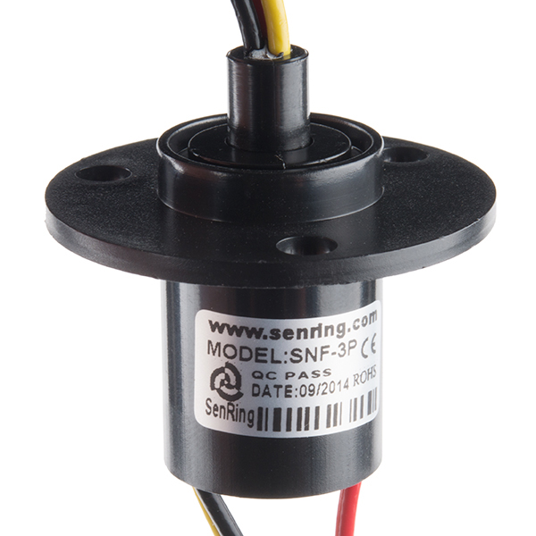 Slip Ring - 3 Wire (10A)