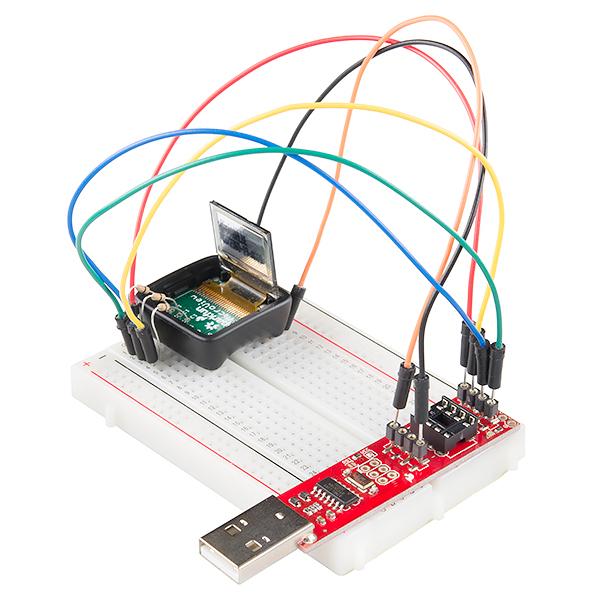 SparkFun MicroView Bootloading Kit