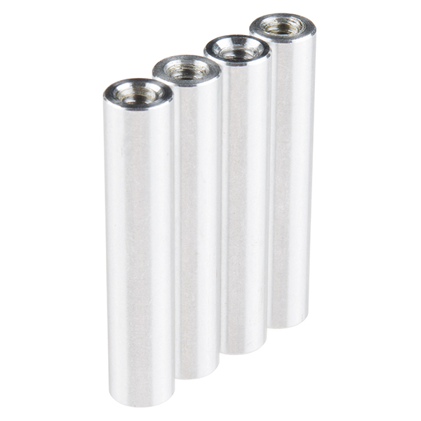 "Standoff - Aluminum Threaded (6-32; 1-1/4"", 4 Pack)"