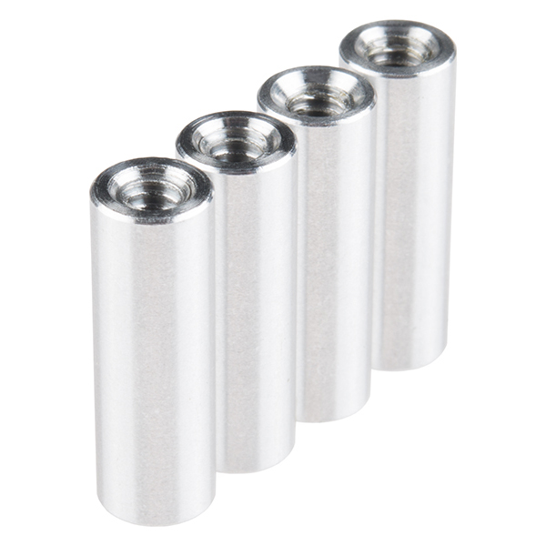 "Standoff - Aluminum Threaded (6-32; 3/4"", 4 Pack)"