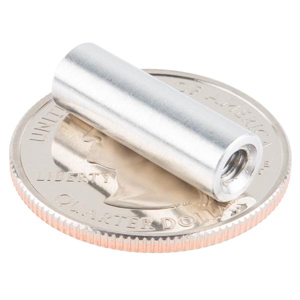 """Standoff - Aluminum Threaded (6-32; 3/4"""", 4 Pack)"""