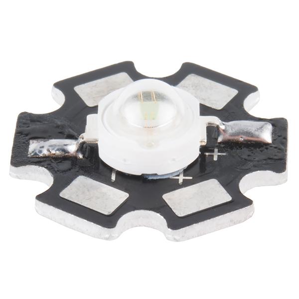LED - 3W Aluminum PCB (5 Pack, Green)