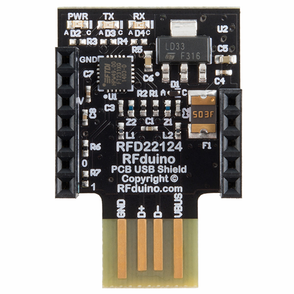 RFduino - PCB USB Shield