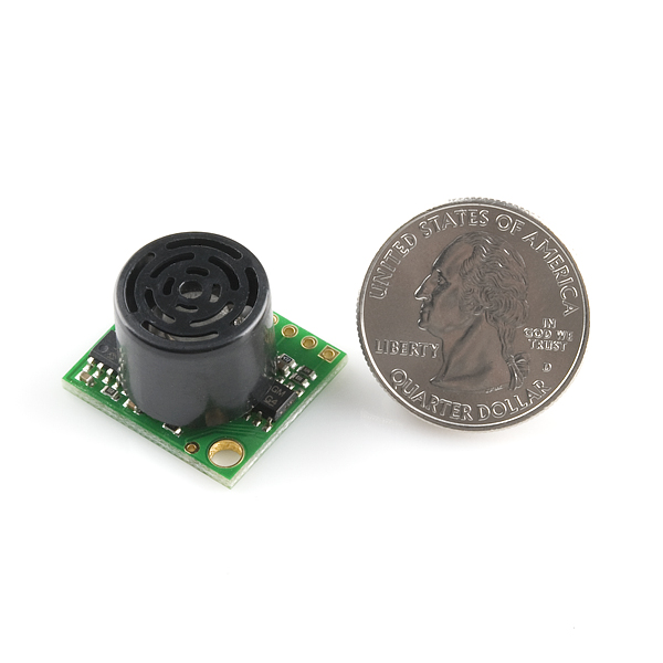 Ultrasonic Range Finder - LV-MaxSonar-EZ2