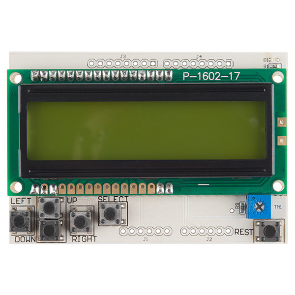 LCD Button Shield V2