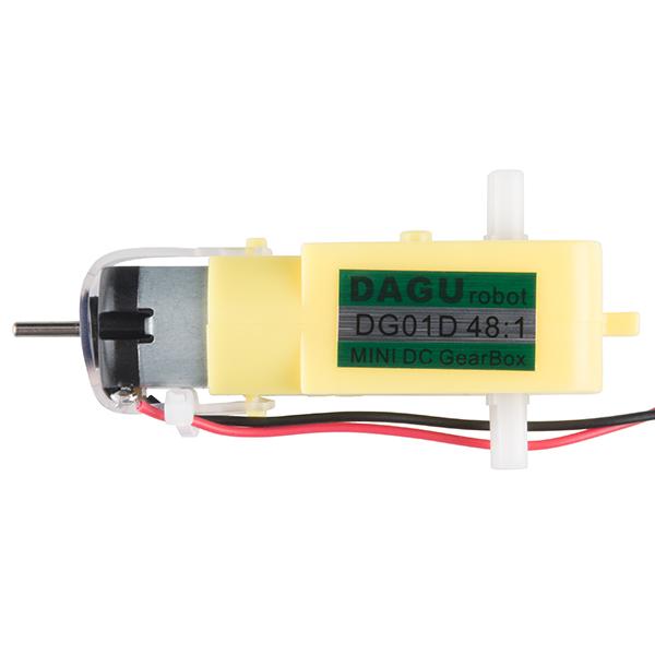 Hobby Gearmotor - 140 RPM (Pair)