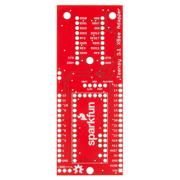Teensy 3.1 XBee Adapter