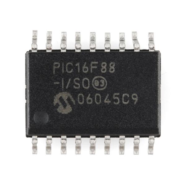 PIC 18 Pin 8MHz - PIC16F88-I/SO