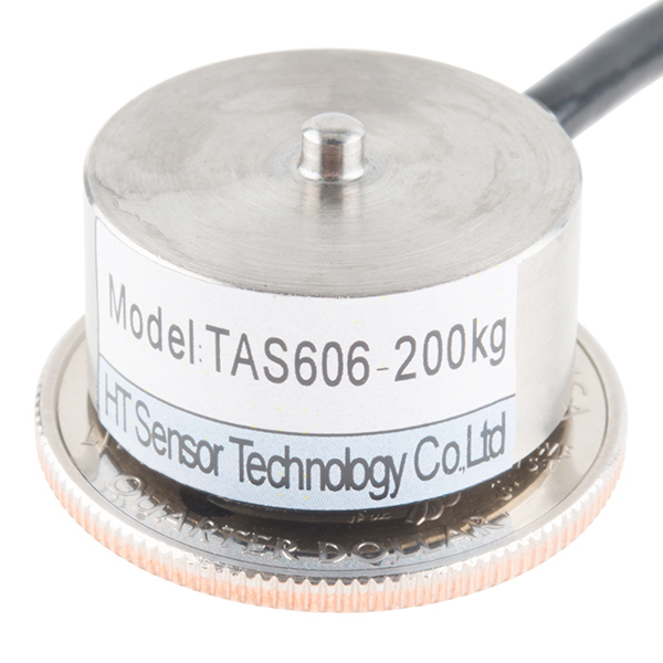 Load Cell - 200kg, Disc (TAS606)