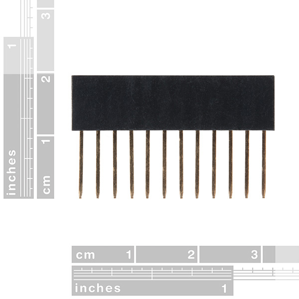 Photon Stackable Header - 12 Pin