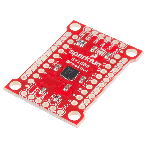 sparkfun 16 output i o expander breakout sx1509 bob 13601volume sales pricing