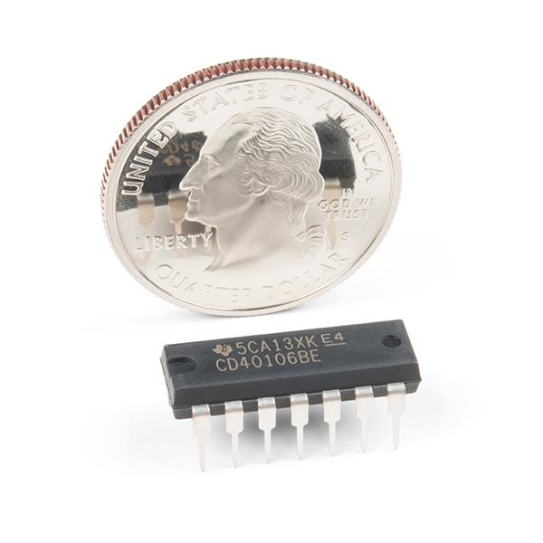 Schmitt Trigger - CD40106B