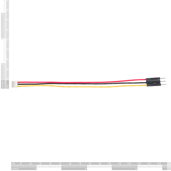 JST to Breadboard Jumper (3-pin)