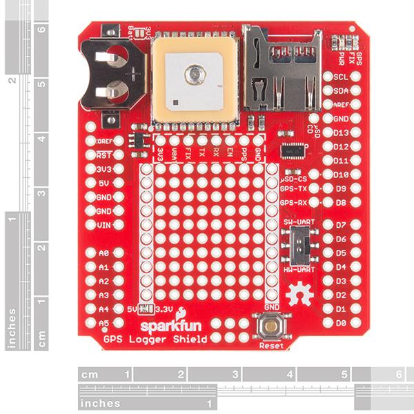 英国威廉希尔SparkFun GPS测井仪屏蔽