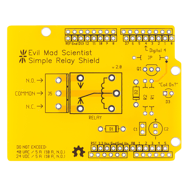 Relay Shield v2.0