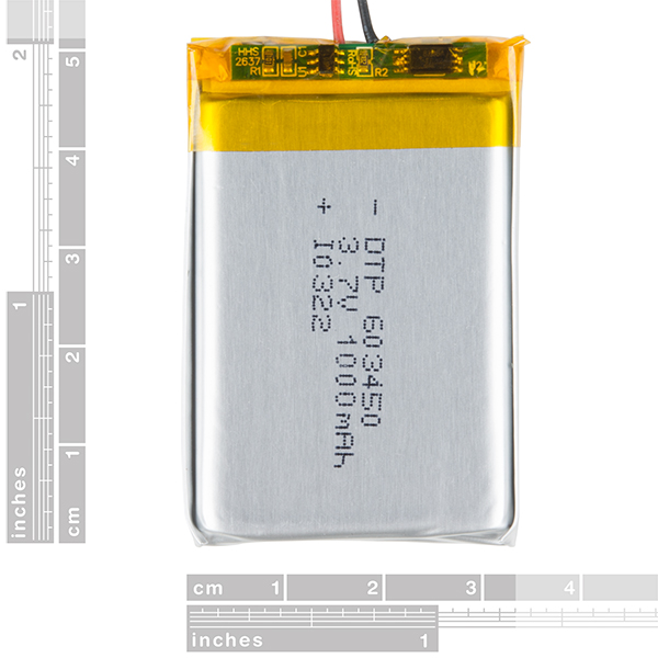 Lithium Ion Battery - 1Ah