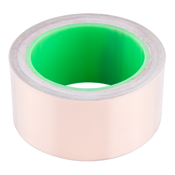 "Copper Tape - Conductive Adhesive, 2"" (50ft)"