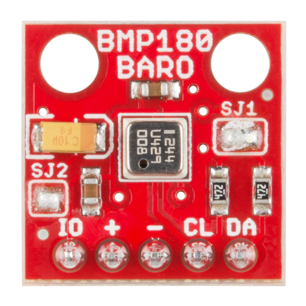 SparkFun Barometric Pressure Sensor Breakout - BMP180 (with Headers)