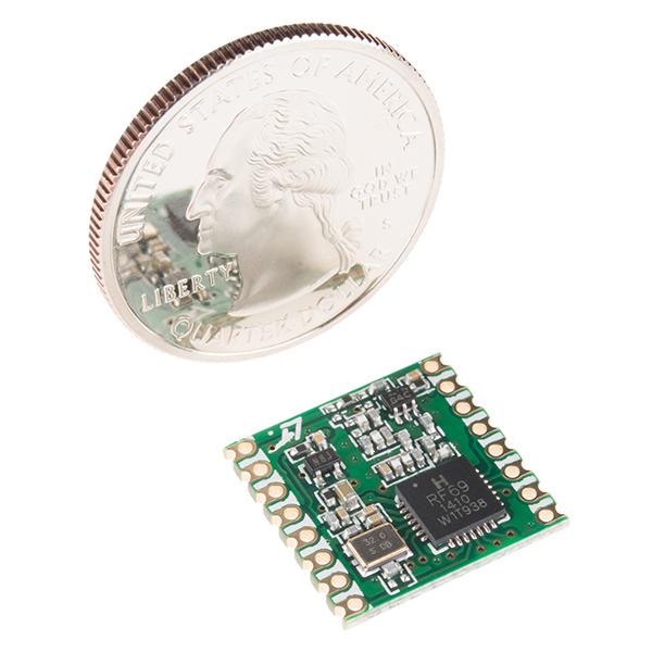 RFM69HCW Wireless Transceiver - 434MHz