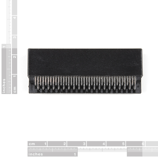 micro:bit Edge Connector - PTH, Right Angle (80-pin)