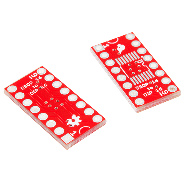 SparkFun SSOP to DIP Adapter - 16-Pin