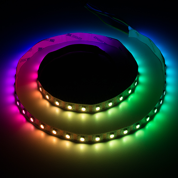 Led rgb strip addressable 1m apa102 com 14015 sparkfun led rgb strip addressable 1m apa102 mozeypictures Choice Image