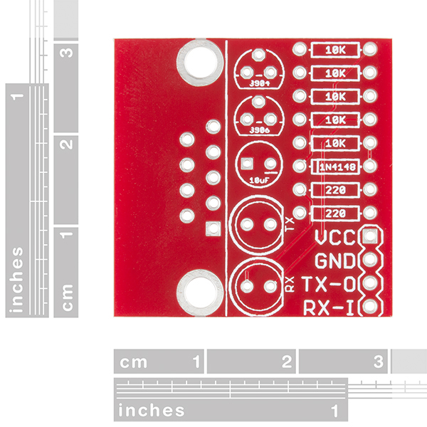 SparkFun RS232 Shifter Board Kit