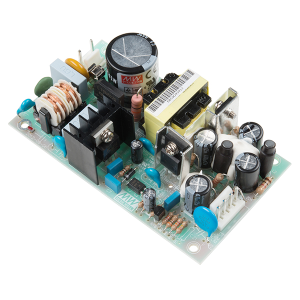 Mean Well Dual Output Switching Power Supply (15VDC, -15VDC, 0.8A ...