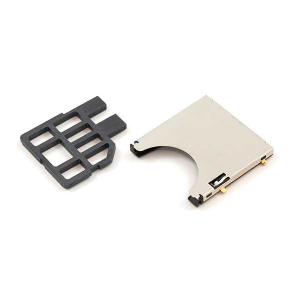 SD/MMC Socket for Secure Digital Disk or Multi Media Cards