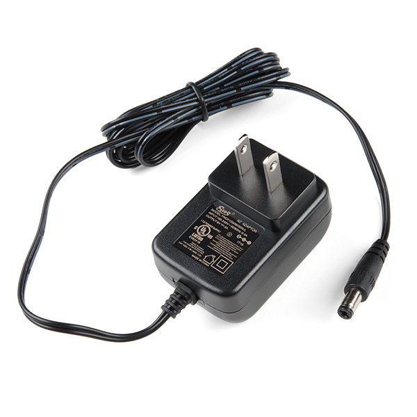 Wall Adapter Power Supply - 6V DC 2A (Barrel Jack)