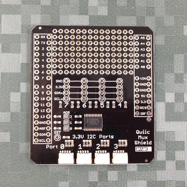 Qwiic Mux Shield for Arduino - PCA9548A