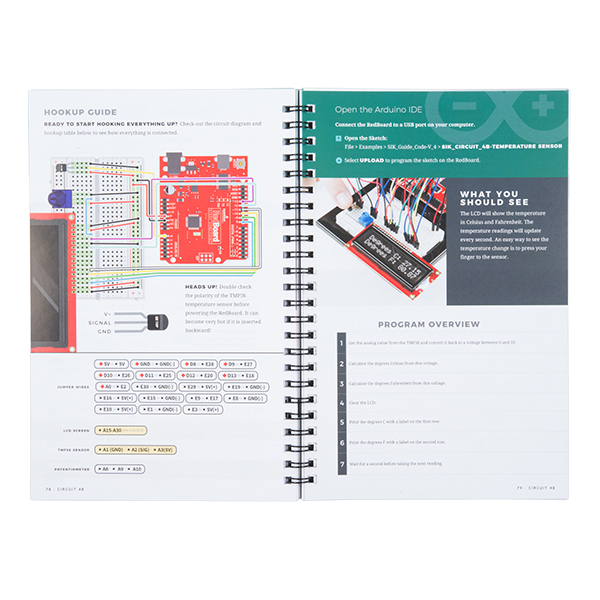 SparkFun Inventor's Kit Guidebook - v4.0