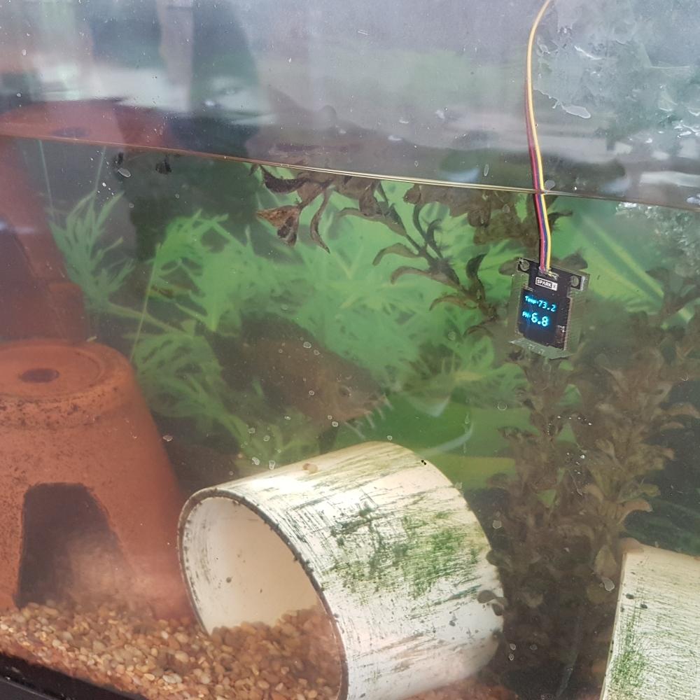 Qwiic Water-Resistant OLED