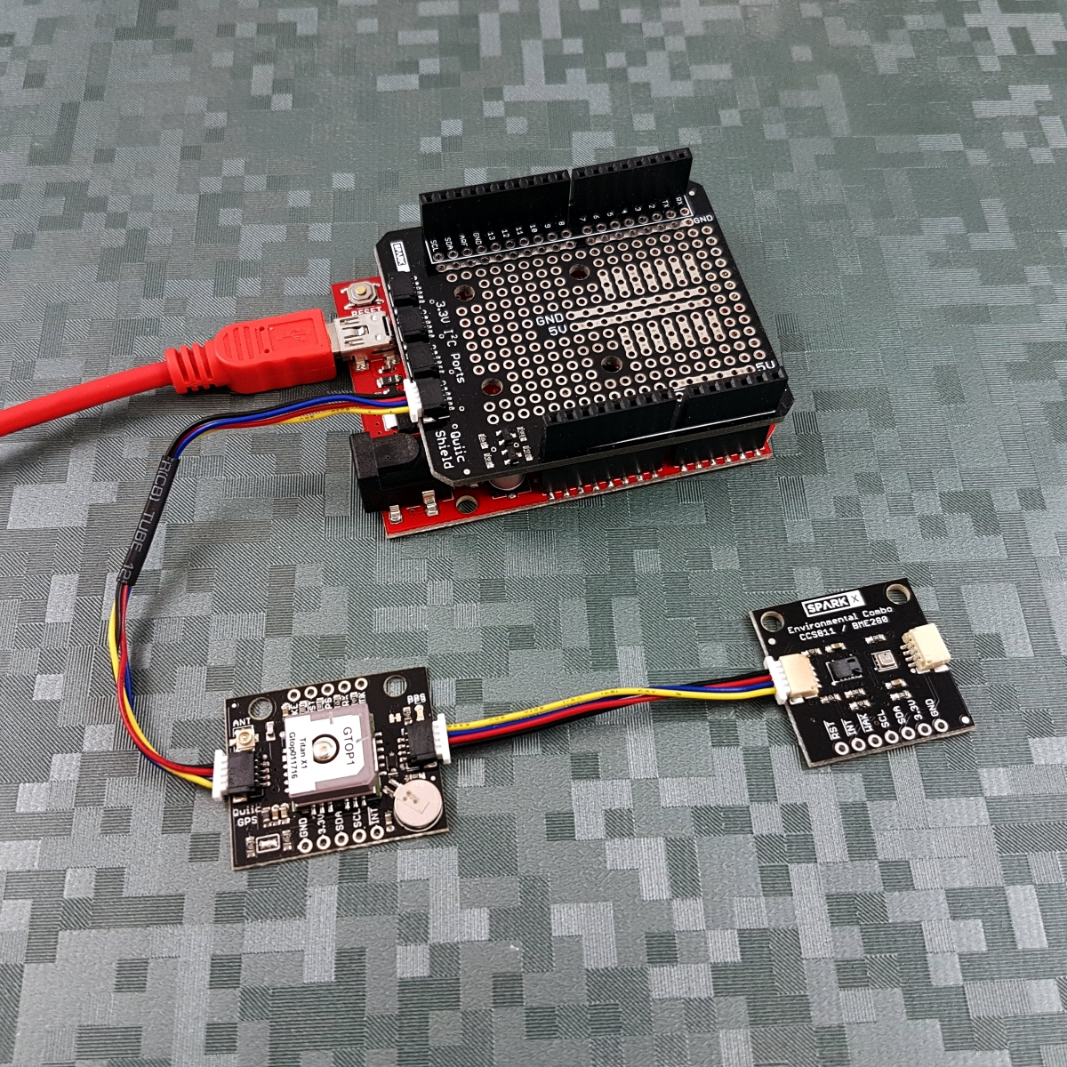 Qwiic GPS - Titan X1