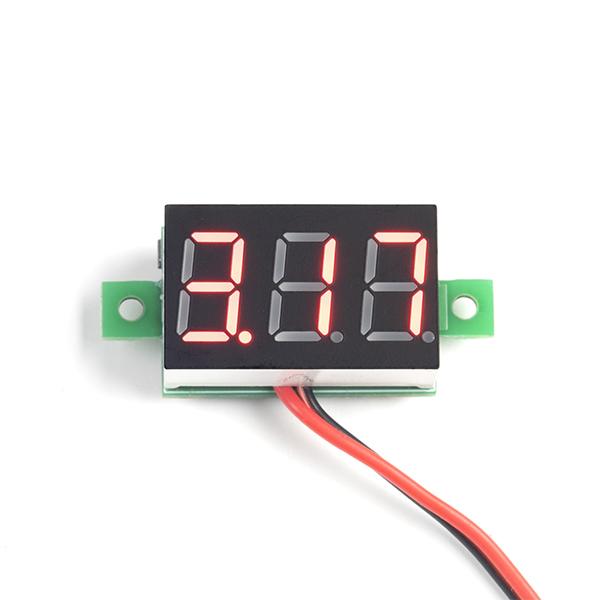 Digital LED Voltmeter