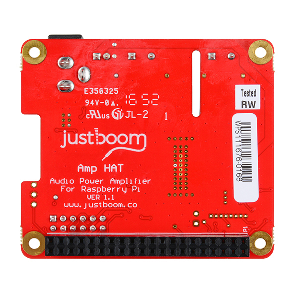 JustBoom Amp HAT