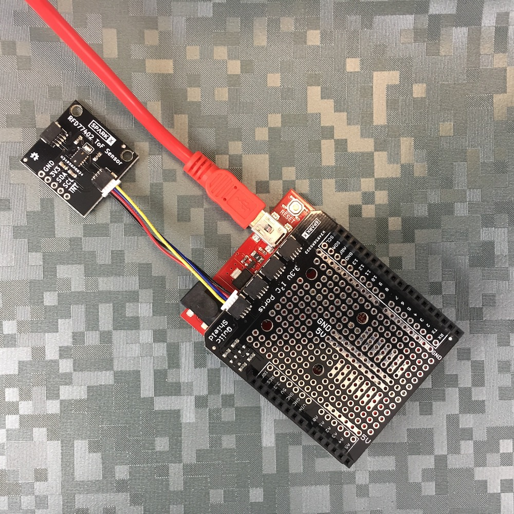 Distance Sensor 2m (Qwiic) - RFD77402