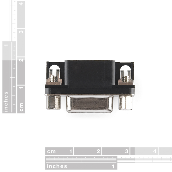 9 Pin Female Serial Connector - PCB Mount