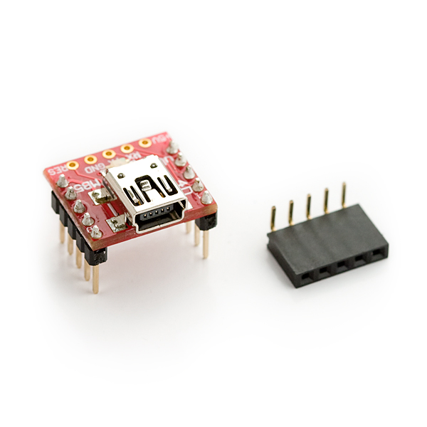 Breakout Board for CP2102 mini USB to Serial