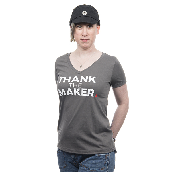 Thank the Maker Women's Tee - XL