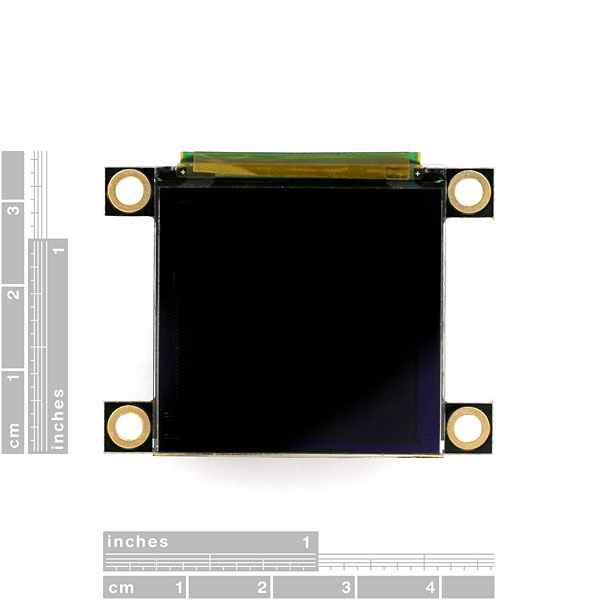 "Serial Miniature OLED Module - 1.5"" (uOLED-128-G1GFX)"