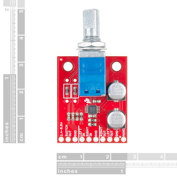 亚博官网SparkFun嘈杂的板球立体声放大器- 1.5 w