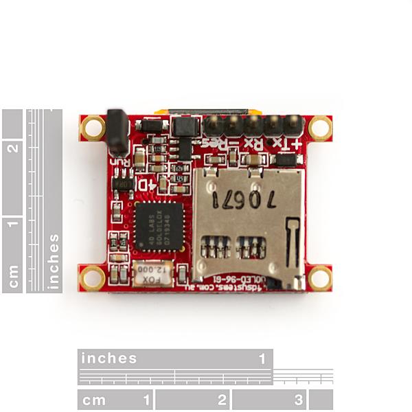 "Serial Miniature OLED Module - 0.96"" (uOLED-96-G1GFX)"