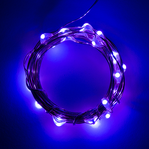 Fairy Lights Purple 2 5m